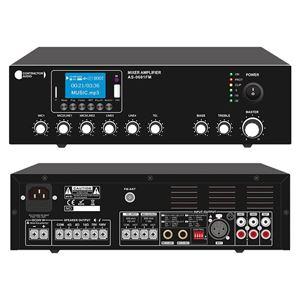 Imagen de Amplificador para megafonia con fuente musical integrada AS-0601FM