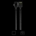 Imagen de Cable CAT6 para patch AWG28 1m color negro K23045-0100-BK